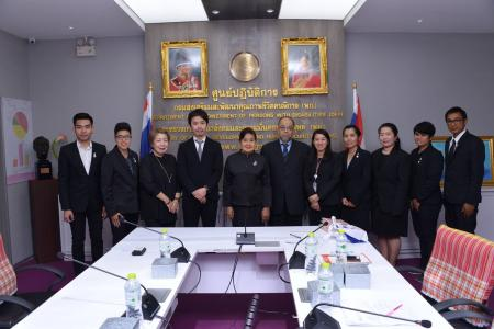 JICA visited Department of Empowerment of Persons with Disabilities