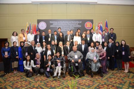 Workshop on Monitoring and Evaluation Framework of ASEAN Decade of Persons with Disabilities