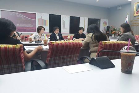 JICA and Association of the Physically Handicapped of Thailand visited Department of Empowerment of Persons with Disabilities 1